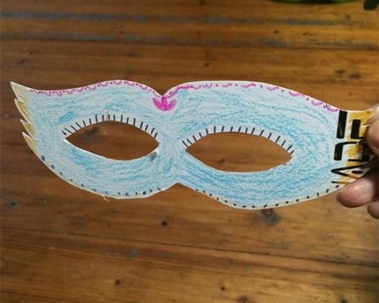 面具的制作方法