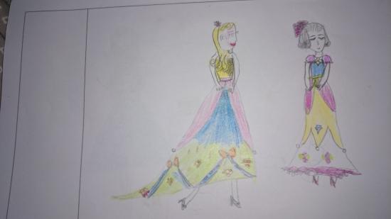 我的梦想-服装设计师 - 成长日记 - 甜恬甜蜜窝